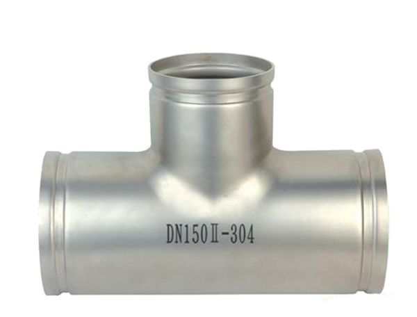 Stainless steel grooved fittings